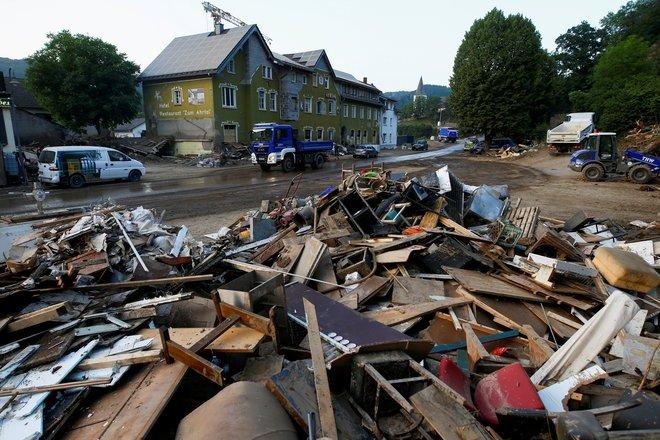 فيضانات ألمانيا تسببت بخسائر مؤمن عليها تصل قيمتها إلى خمسة مليارات يورو