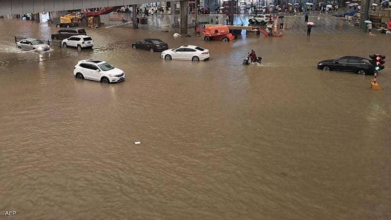 مصرع 33 شخصًا جراء فيضانات وسط الصين