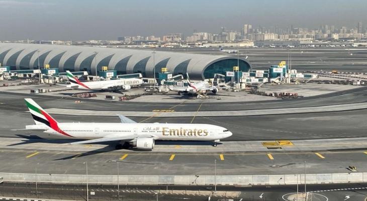 تصادم طائرتين بمطار دبي دون إصابات