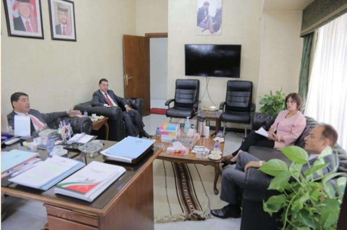 المنسق الحكومي يلتقي وفد حقوق الإنسان في منظمة التحرير الفلسطينية