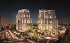 """Al-Fakhouri  limited fire is brought under control in an """"outside terrace"""" at the Ritz-Carlton project within a record period"""