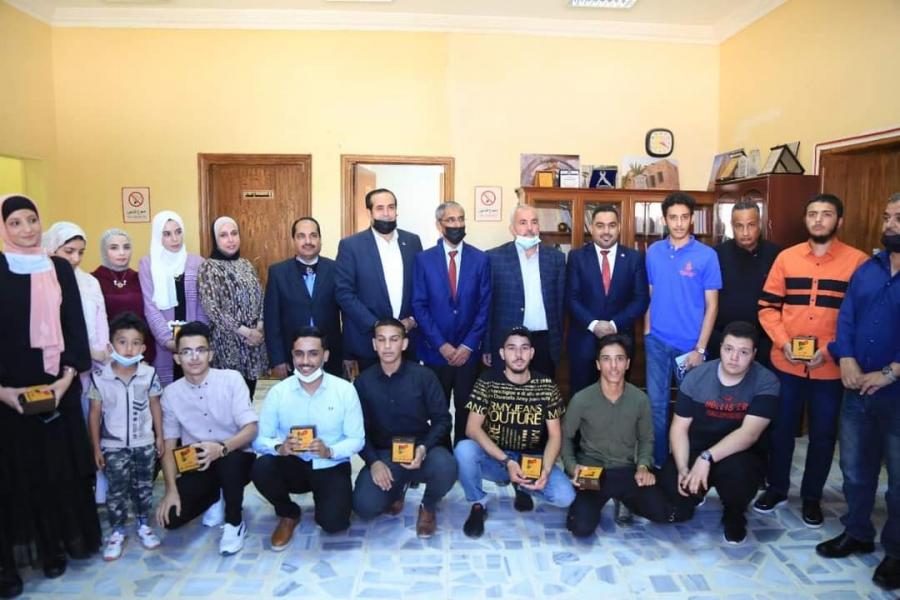النجادا يرعى احتفالية هئية شباب كلنا الأردن في المفرق بتكريم أوائل التوجيهي في المحافظة