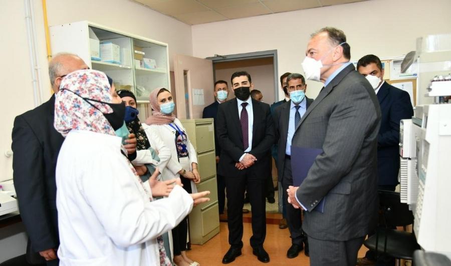 السفير الامريكي في الاردن يزور جامعة العلوم والتكنولوجيا