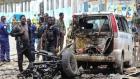 مصرع 8 أشخاص بهجوم بسيارة مفخخة قرب القصر الرئاسي الصومالي