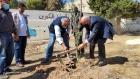 بلدية السلط و كاريتاس السلط تطلقان مبادرة لزراعة  الأشجار في حديقة البقيع التابعة للبلدية