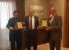 وزير البيئة يكرم ناشطين في مكافحة الطرح العشوائي