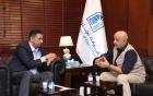 الحاج توفيق والنائب ابو حسان يبحثان تحديات القطاع التجاري