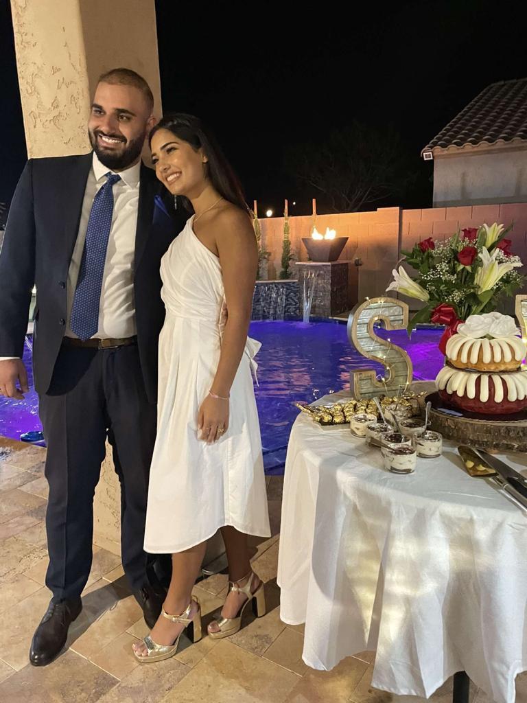 وليد خالد مناصرة وسيرين ايهاب صالح .. مبارك الخطوبة