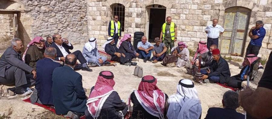 إربد كبار سن يستذكرون أنماط الحياة الريفية في قرية صمد التراثية