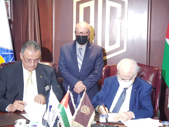 وزير الاشغال يرعى توقيع اتفاقية تعاون بين جمعية المستثمرين في قطاع الإسكان ومجموعة طلال أبو غزالة