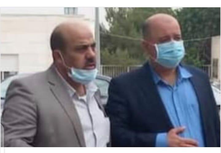 مدير صحة اربد الدكتور الشياب  يتفقد مستشفى اليرموك في لواء بني كنانه