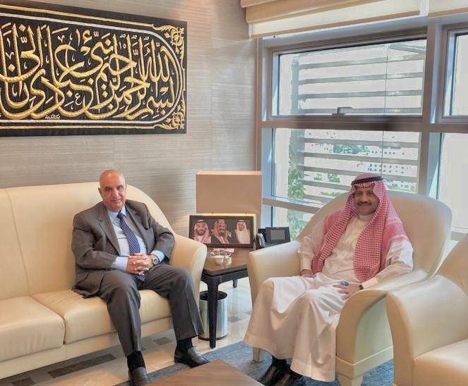 لجنة الأخوة الأردنية السعودية في الأعيان تلتقي السفير السديري
