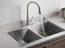 الطريقة الصحيحة لتنظيف حوض المطبخ الستانلس ستيل