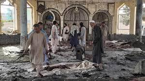 ارتفاع عدد ضحايا الانفجار على مسجد بأفغانستان إلى 62 وداعش تتبنى الهجوم