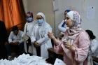 جامعة عمان الاهلية تقيم يوماً طبياً مجانياً في مخيم البقعة