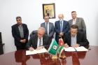 التوقيع على اتفاقية لـ الأمن والحراسة ما بين اليرموك و المتقاعدين العسكريين